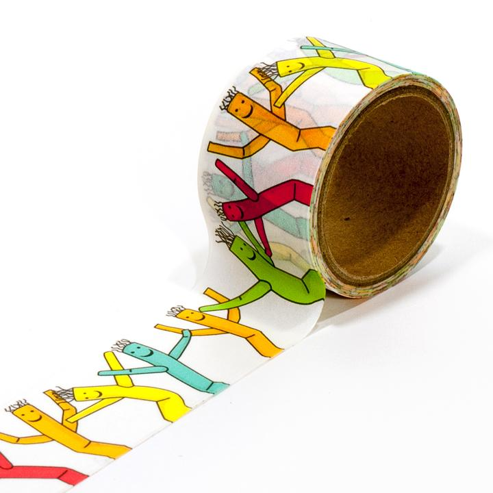 Wacky Wave Washi Tape