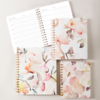 Large Floral Non-Dated Monthly Planner