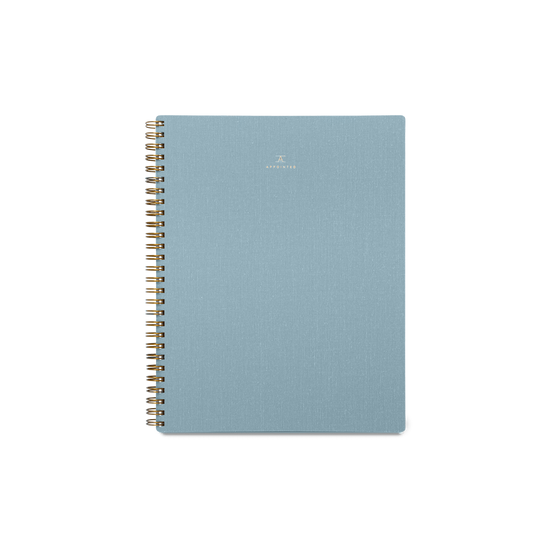 Lined Workbook - Chambray Blue