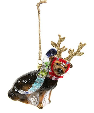 Rein Dog Ornament