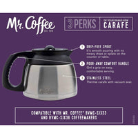 Mr. Coffee DRD95-RB 8-Cup Stainless Steel Double-Walled Thermal Carafe Accessory