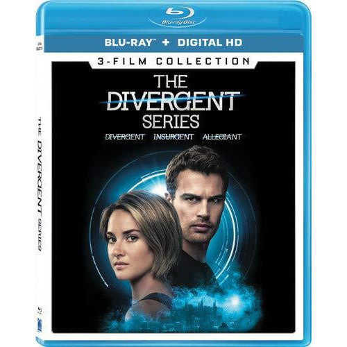 The Divergent Series 3-Film Collection [Bluray + Digital]