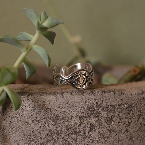 Sterling Silver Bowtie Ring