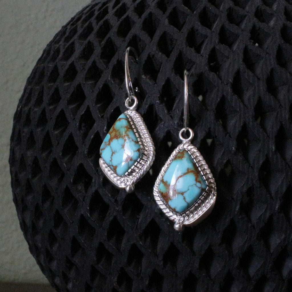 Sterling Silver Carico Lake Dangle Earrings