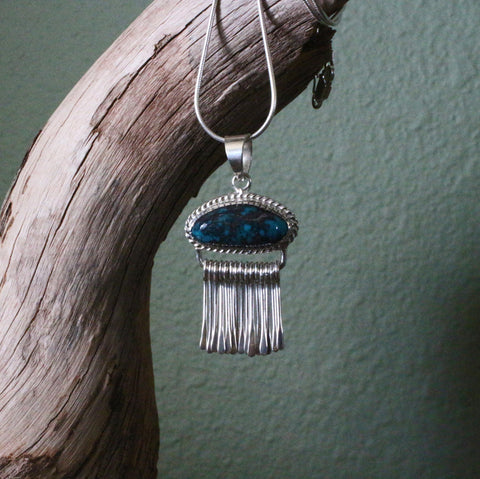 Cloud Mountain Fringe Pendant