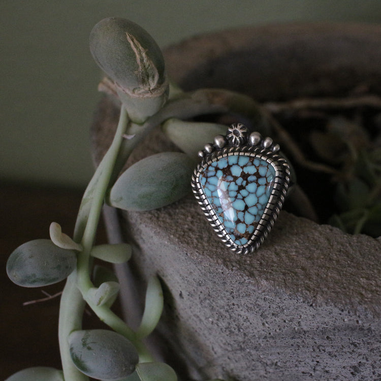 Dry Creek Sterling Silver Crown Ring