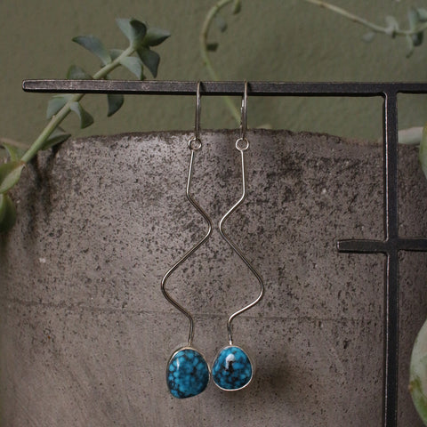 Ithaca Peak Wave Dangle Earrings