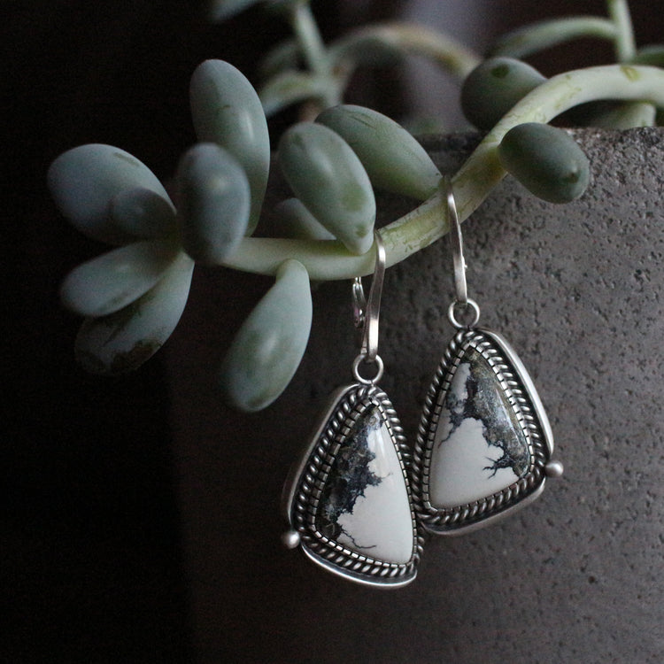 Ivory Creek Dangle Earrings