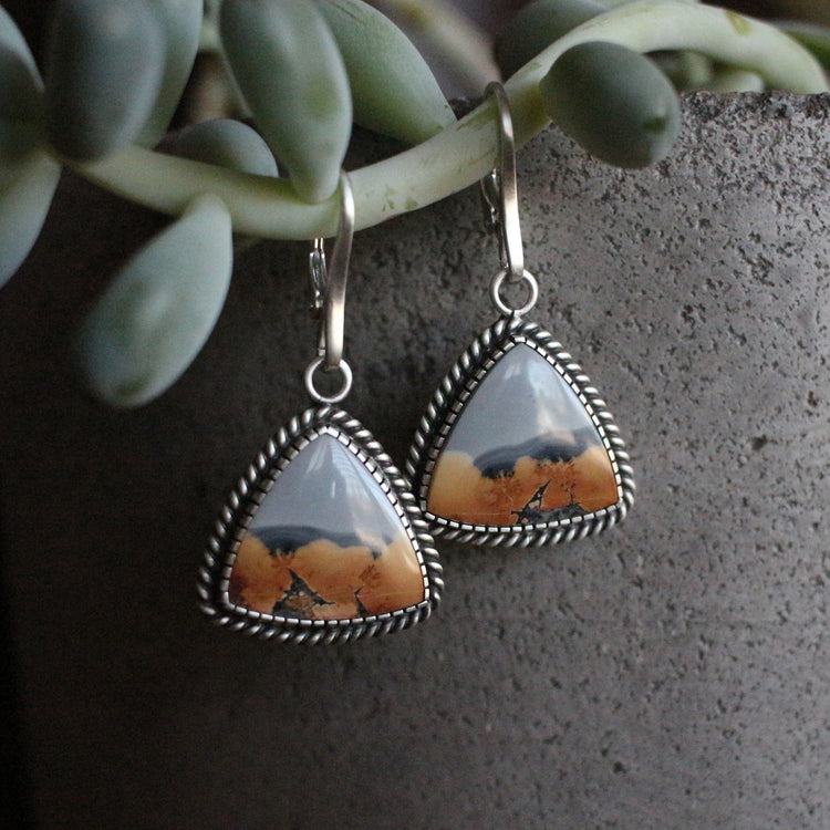 Maligano Jasper Dangle Earrings