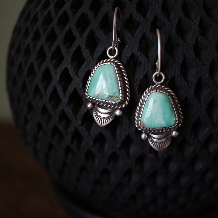 Orville Jack Minty Green Earrings