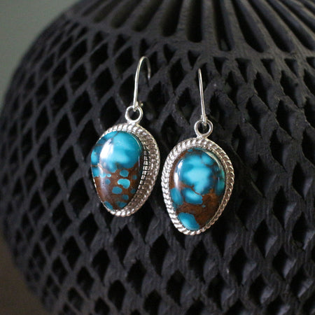 Pilot Mountain Dangle Earrings