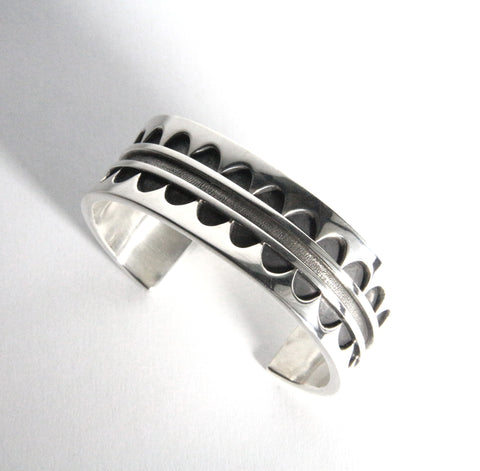 Sterling Silver Arches Cuff