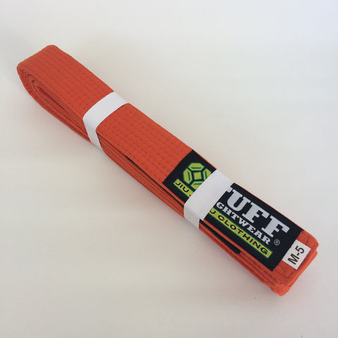 Kids BJJ Belts - ORANGE