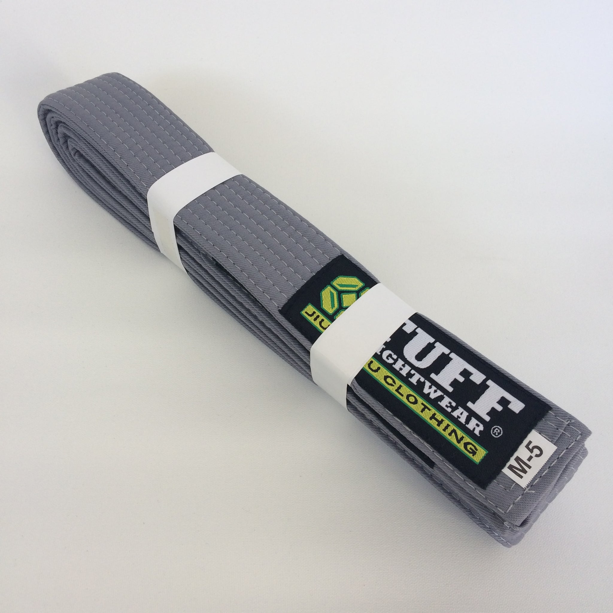 Bulk Kids BJJ Belts - GREY x 10