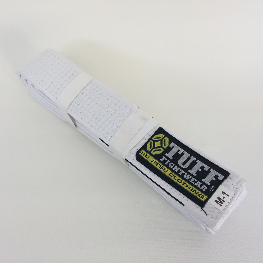 Kids BJJ Belts -WHITE