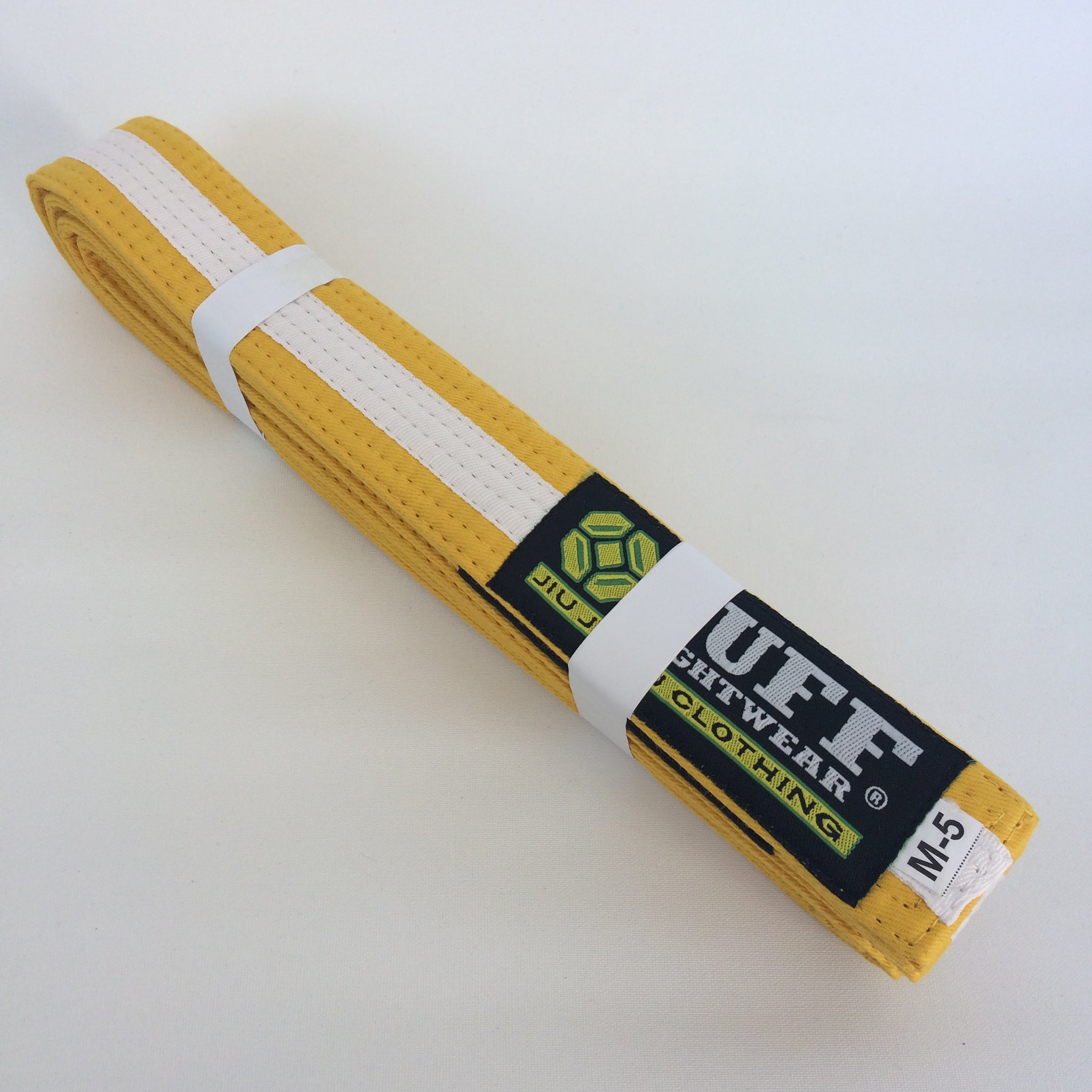 Kids BJJ Belts - YELLOW/WHITE