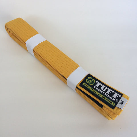 Kids BJJ Belts - YELLOW
