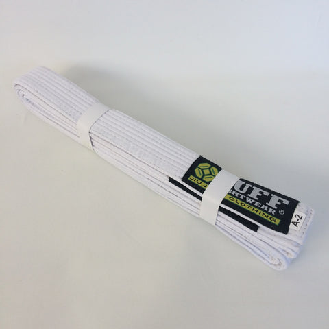 Bulk Adult BJJ Belts - WHITE x 10