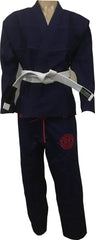 """LG"" Tuff Fightwear Lightweight BJJ Gi-NAVY BLUE"