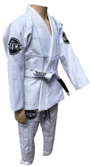 """LG"" Tuff Fightwear Lightweight BJJ Gi-WHITE - KIDS"
