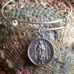 Archangel Raphael Inspirational Meaningful Expandable Bracelet