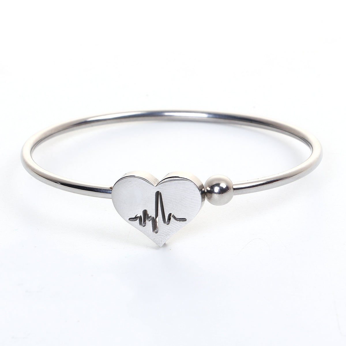 boing satin bracelet cuff by item brushed silver thick products
