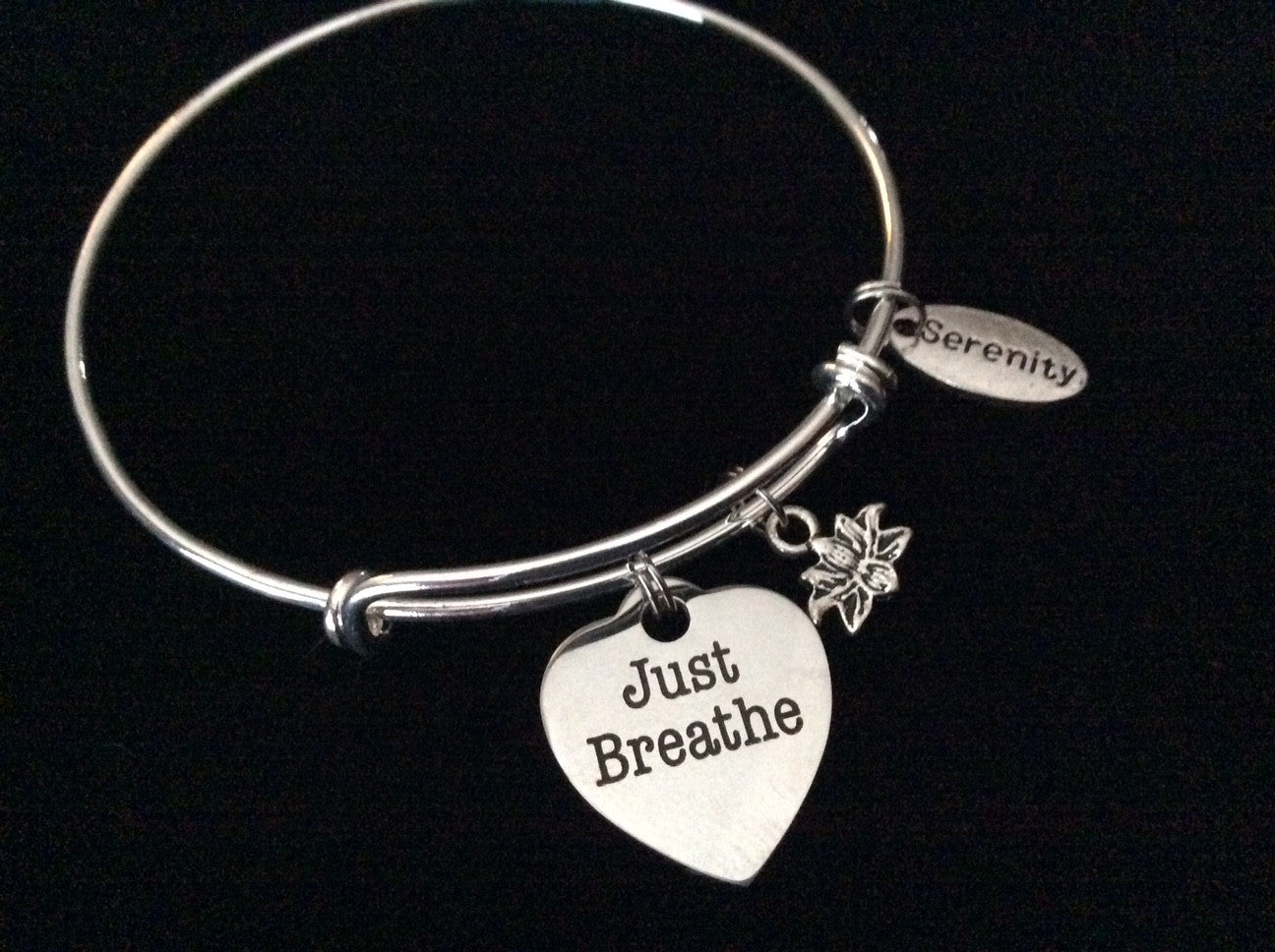 bangles products steel spirit bracelets bracelet charm my stainless wire firefighter bangle fireman soul adjustable