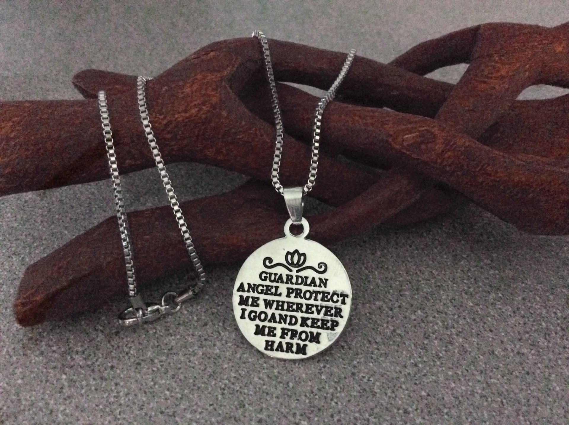 handmade handstamped necklace stamped jewelry karma necklaces photo