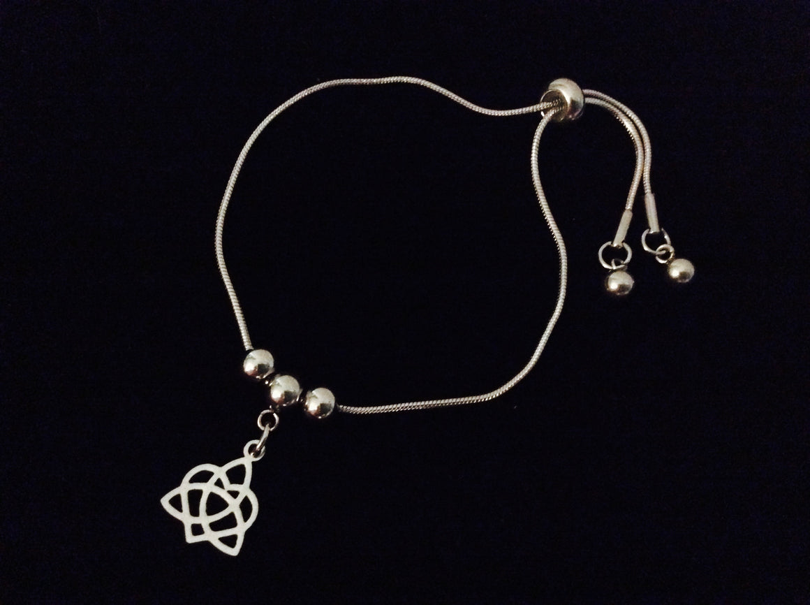 Expandable charm bracelets tagged new arrivals jules obsession celtic forever infinity heart adjustable bolo bracelet stainless steel adjustable bracelet slider charm bracelet gift one biocorpaavc Choice Image