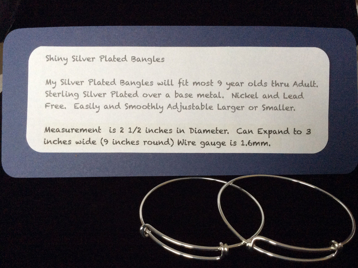 Design your own expandable bracelet silver plated wire bangle design your own expandable bracelet silver plated wire bangle adjustable one size fits most greentooth Gallery