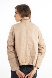 Adrienne Twill and Vintage Leather 40% OFF