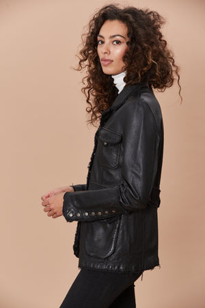 Meryl - Washed Leather