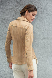 Jolene Perforated - Vintage Leather