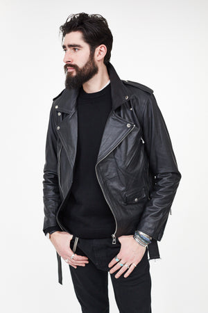 Bowie Leather Moto