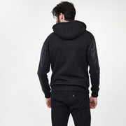 Lennon French Terry + Leather Hoodie