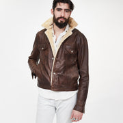 Lindberg Jean Jacket w/ Cream Fur