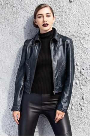 Megan - Vintage Leather