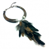 Racimo Feathers Necklace
