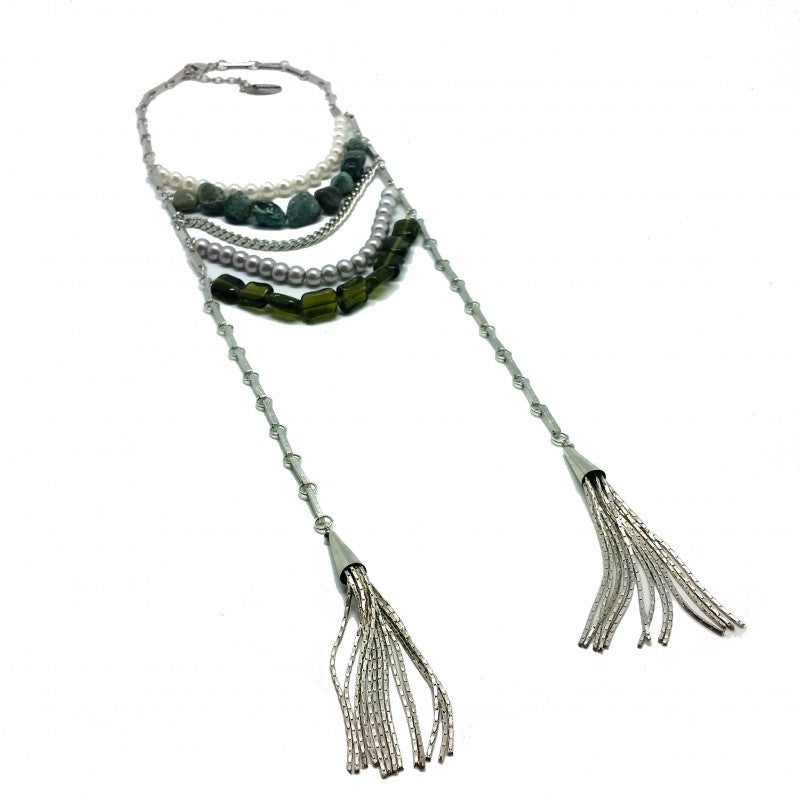 Jerico Silver Necklace