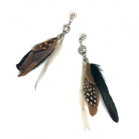 Argan Silver Earrings