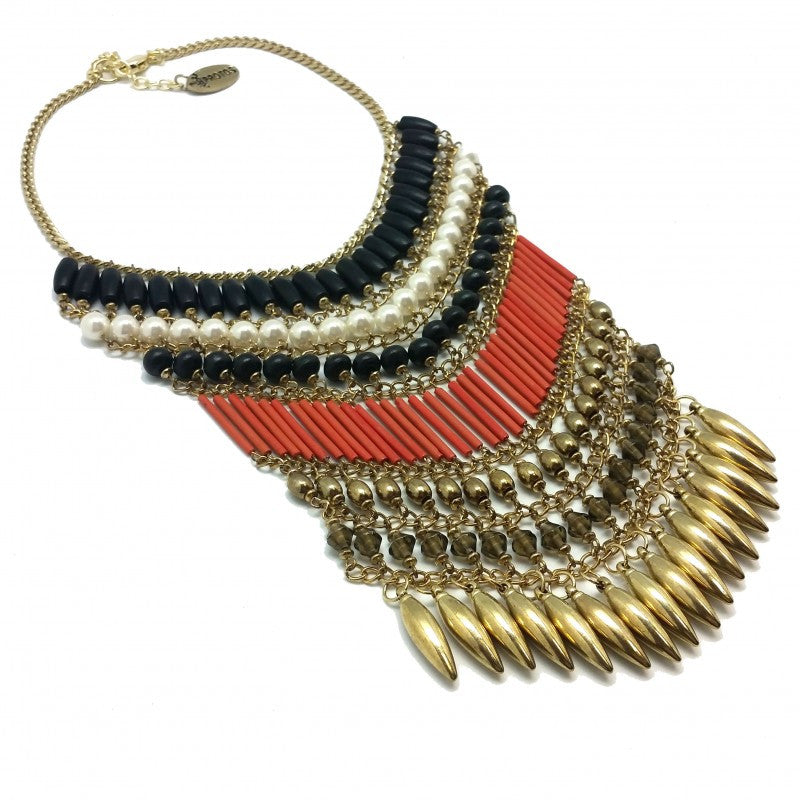 Semillas Gold Necklace