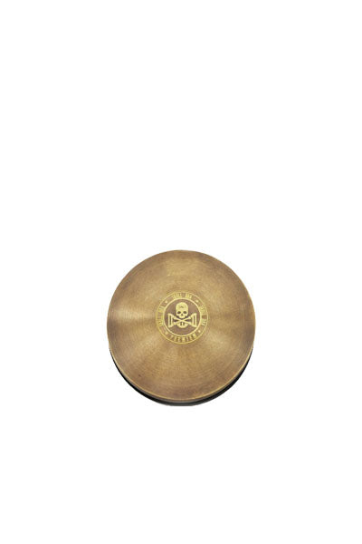 Round Brass Foot Pedal