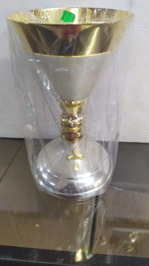 Chalice Brass Gold -Jefgo.in