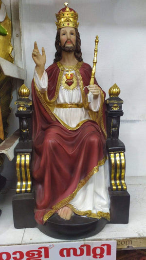 Jesus Christ the King Statue -Jefgo.in