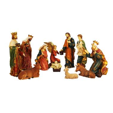 15 inch Christmas Nativity Set