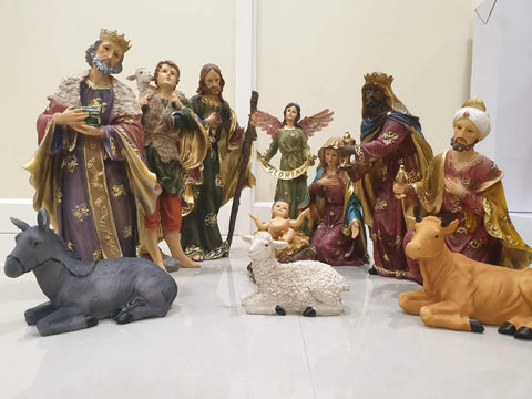 18 inch Christmas Nativity Set -Jefgo.in