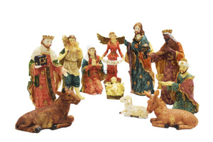 6 inch Christmas Nativity Set -Jefgo.in