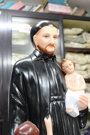 Saint Vincent De Paul Statue Fiber 30 inch -Jefgo.in