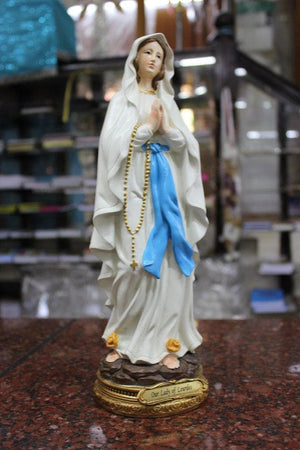 Our lady Of Lourdes Statue 12 inch -Jefgo.in