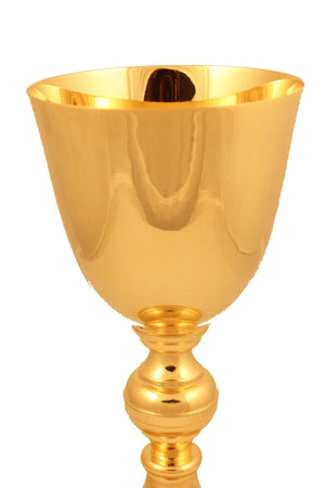 Chalice Brass Gold 126 height 8.7 inch -Jefgo.in